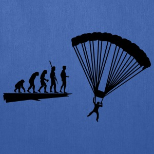 Evolution parachutist Shirt - Tote Bag
