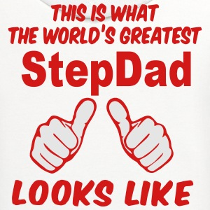 This Is What The World's Greatest StepDad Looks Li T-Shirts - Contrast Hoodie