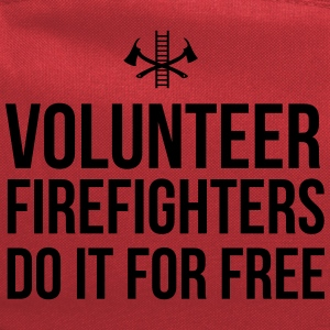 Volunteer Firefighters Do it For Free T-Shirts - Computer Backpack