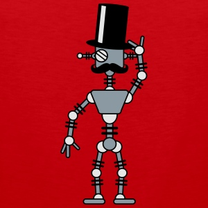 Sir Robot T-Shirts - Men's Premium Tank