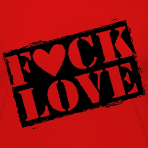 fuck love T-Shirts - Women's Premium Long Sleeve T-Shirt