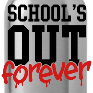 school's out forever Kids' Shirts - Water Bottle