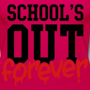 school's out forever Kids' Shirts - Women's Premium Tank Top
