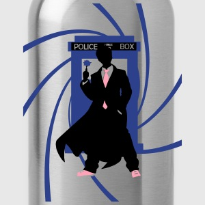 my_name_is_doctor_tenth_doctor T-Shirts - Water Bottle