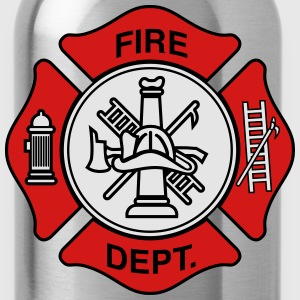 Fire Department Symbol T-Shirts - Water Bottle