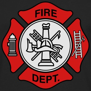 Fire Department Symbol T-Shirts - Men's Premium Long Sleeve T-Shirt