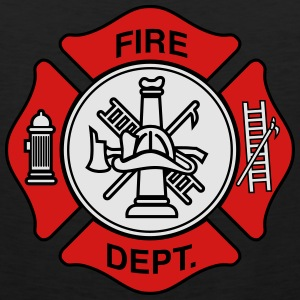 Fire Department Symbol T-Shirts - Men's Premium Tank