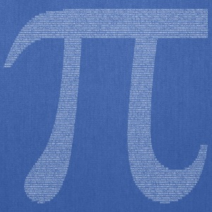 Numbers in decimals: Geometric Constant Pi T-Shirts - Tote Bag