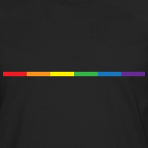 Gay Rainbow Symbol T-Shirts - Men's Premium Long Sleeve T-Shirt