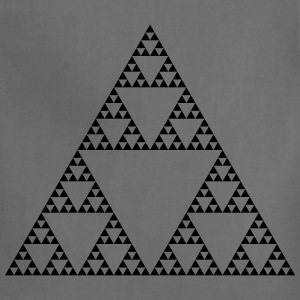 Fractals: Sierpinski Triangle (high detail) - Adjustable Apron