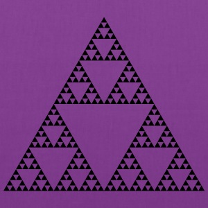 Fractals: Sierpinski Triangle (high detail) - Tote Bag