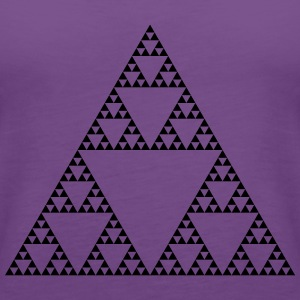 Fractals: Sierpinski Triangle (high detail) - Women's Premium Tank Top