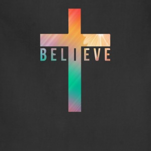 i believe cross T-Shirts - Adjustable Apron