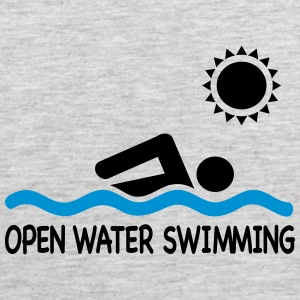 open water swimming T-Shirts - Men's Premium Tank