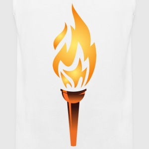 torch, olympic flame - Men's Premium Tank