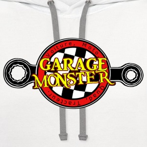 garage monster Baby & Toddler Shirts - Contrast Hoodie