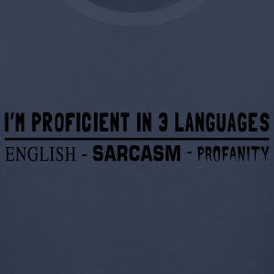 Proficient in 3 Languages Women's T-Shirts - Men's Premium Tank