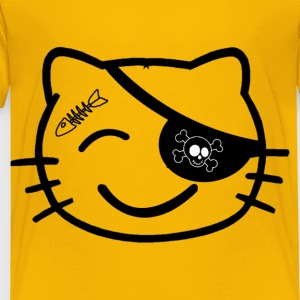 cat pirate - Toddler Premium T-Shirt