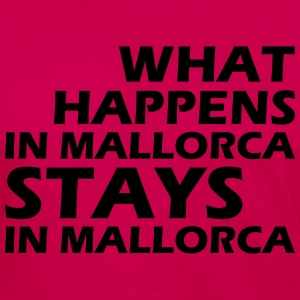 what happens in mallorca stays in mallorca T-Shirts - Women's Premium Long Sleeve T-Shirt