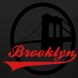 Brooklyn bridge black - Men's Premium Tank