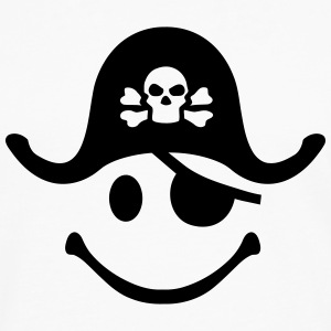 Smiley Pirate Women's T-Shirts - Men's Premium Long Sleeve T-Shirt