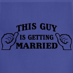 This Guy is Getting Married T-Shirts - Adjustable Apron
