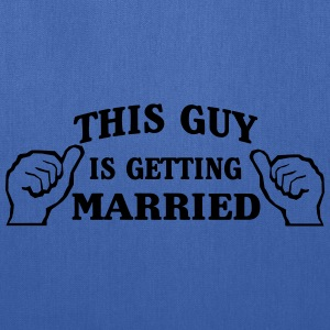 This Guy is Getting Married T-Shirts - Tote Bag