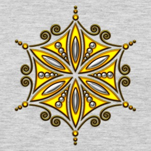Flower of Aphrodite, 2c, Symbol of  love, beauty and transformation, Flower of life, Talisman Women's T-Shirts - Men's Premium Long Sleeve T-Shirt
