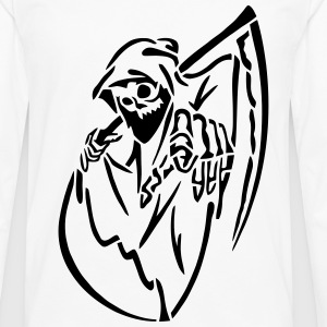 Reaper Pointing - Men's Premium Long Sleeve T-Shirt