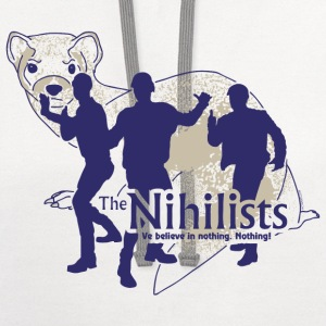 The Big Lebowski T-Shirt (Nihilists) T-Shirts - Contrast Hoodie