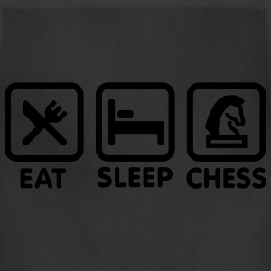 Eat - Sleep - Play chess T-Shirts - Adjustable Apron