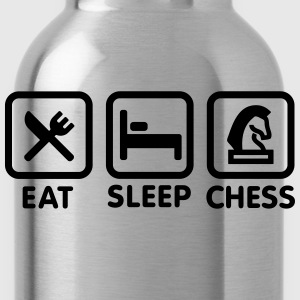 Eat - Sleep - Play chess T-Shirts - Water Bottle