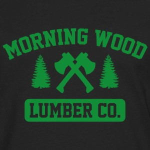 Morning Wood Lumber Co. - Men's Premium Long Sleeve T-Shirt