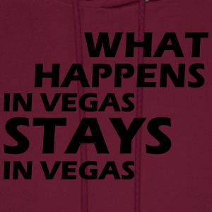 what happens in vegas ... T-Shirts - Men's Hoodie