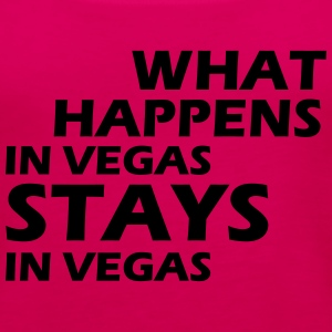 what happens in vegas ... T-Shirts - Women's Premium Tank Top