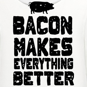 Bacon Makes Everything Better T-Shirts - Contrast Hoodie
