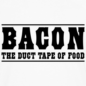 Bacon is the duct tape of food T-Shirts - Men's Premium Long Sleeve T-Shirt