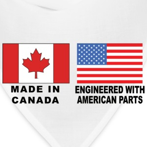 Made In Canada With American Parts T-Shirt - Bandana