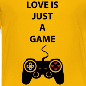 Love is just a game 2c Kids' Shirts - Toddler Premium T-Shirt