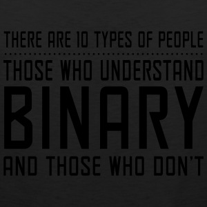 10 Types of People, Understand Binary T-Shirts - Men's Premium Tank