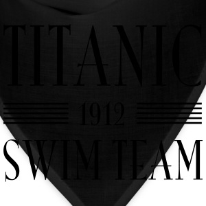 Titanic Swim Team Women's T-Shirts - Bandana