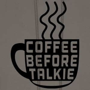 Coffee Before Talkie T-Shirts - Men's Hoodie
