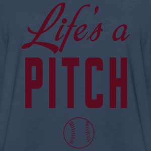 Life is a Pitch T-Shirts - Men's Premium Long Sleeve T-Shirt