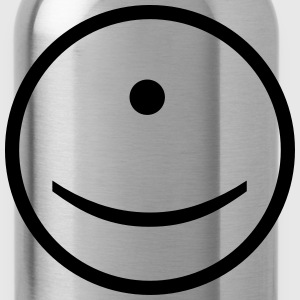 Cyclops Smiley Face - Water Bottle