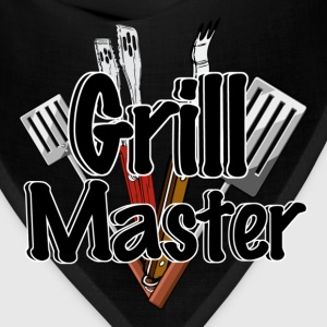 The Grill Master with BBQ Tools  - Bandana