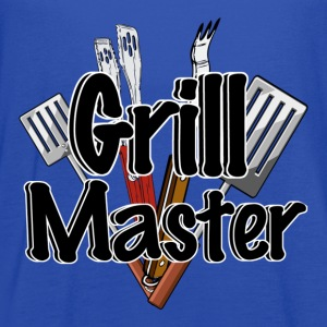 The Grill Master with BBQ Tools  - Women's Flowy Tank Top by Bella