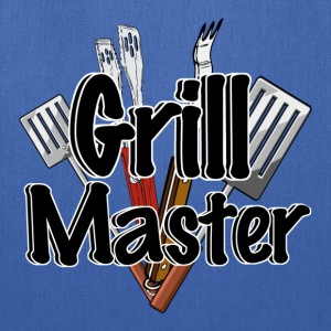 The Grill Master with BBQ Tools  - Tote Bag