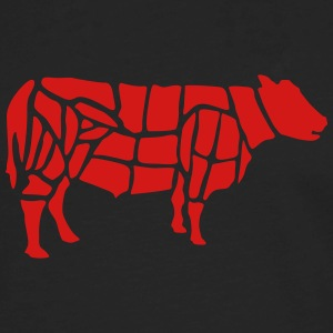 cow grilling T-Shirts - Men's Premium Long Sleeve T-Shirt