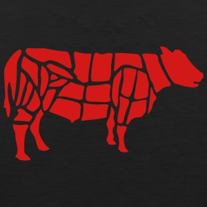 cow grilling T-Shirts - Men's Premium Tank