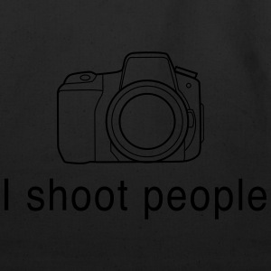I Shoot People - Camera Women's T-Shirts - Eco-Friendly Cotton Tote
